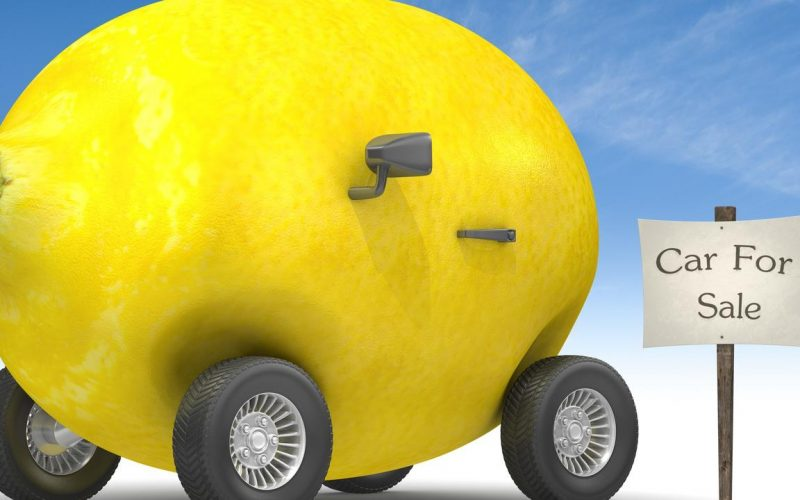 Buying a Lemon Car When Shopping for a Used Car