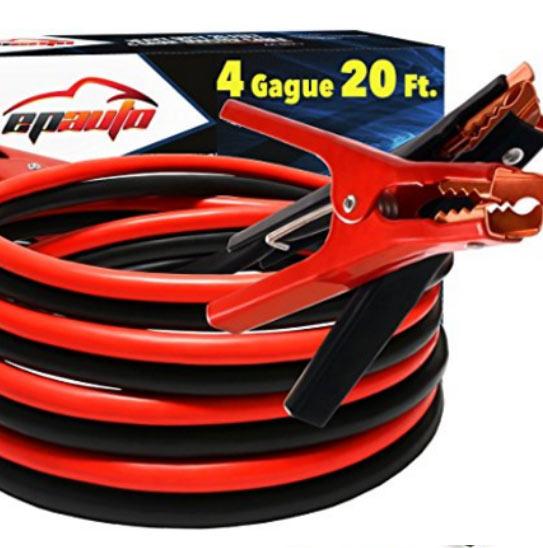 4 gauge jumper cables